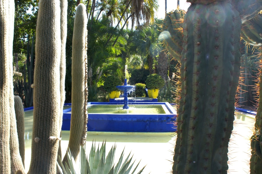 Jardin.Marjorelle.fountain